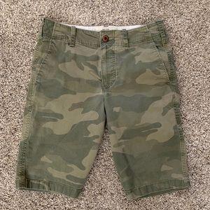 Men's Hollister Camo Shorts-28 waist